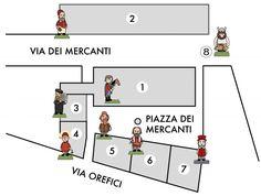 MedioEvo Weblog: Le opere di Pao in piazza Mercanti a Milano