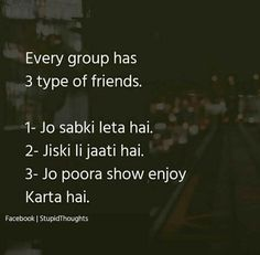 M Sakshi ki leti hu means Sakshi ki li jati h or Shruti show enjoy krti h. Best Friend Quotes Funny, Funny Quotes In Hindi, Stupid Quotes, Besties Quotes, Cute Funny Quotes, Really Funny Memes, Jokes Quotes, Funny Facts, Life Quotes
