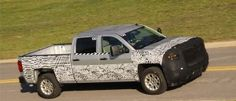 2014 #Chevy #Silverado test photos.