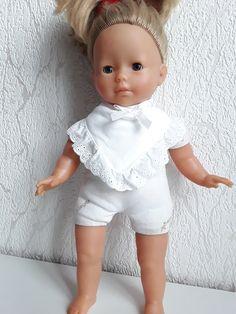 TOYLAND Poup/ée Porcelaine De 45cm en Robe Rouge Et Blanche Jouets Filles