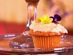 Flower Cupcakes from FoodNetwork.com