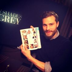 Jamie at the 'Fifty Shades of Grey' London Press Junket.