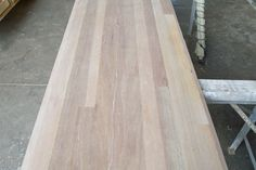 Bench top constructed from recycled timber off-cuts. Made to order. Raw Furniture, Rustic Furniture, Furniture Making, South Australia, Farmhouse Table, Recycling, Bench, Dining Table, Wood