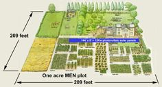 One Acre Homestead Plan