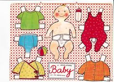 BABY 1 * 1500 free paper dolls Arielle Gabriel's International Paper Doll Society paper dolls for my Pinterest pals thanks * Vintage Paper Dolls, 2nd Baby, Retro Toys, Art Pages, Free Paper, Doll Patterns, Beautiful Dolls, Doll Clothes, Little Girls