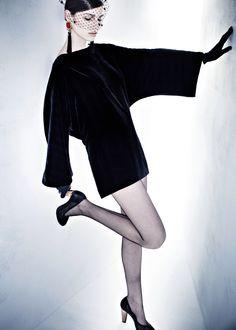 CHOCHENG fashion collection: BLEU 1930s chic