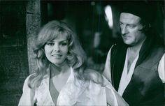 Vintage Photo of French Actress Michèle Mercier INA Movie Scene   eBay