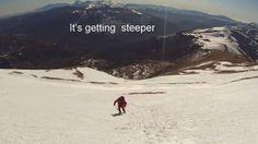 Climbing the Monte Vettore in winter
