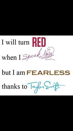 Because of Taylor :-)