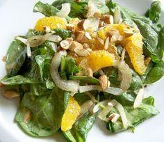 Almond Orange Spinach Salad Dressing