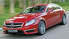 The Red Hot 2012 Mercedes CLS63 AMG