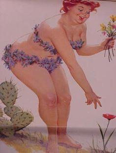 Duane Bryers Artwork (Pin Up Hilda) Plus Size Vintage, Dita Von Teese, Vintage Tarot Cards, Estilo Pin Up, Art Vintage, Girl Problems, Pin Up Art, Big And Beautiful, Pin Up Girls
