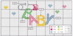 Phatufa, Babas, Ponto Cruz, Babetes, Cross stitch