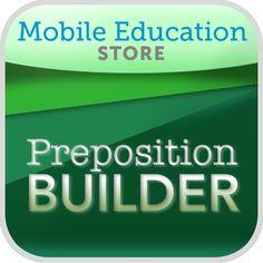 PrepositionBuilder™ App   Lesson Planet
