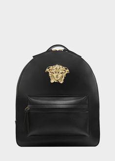 Medusa Palazzo leather backpack