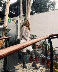 Santorini, Outdoor Furniture, Outdoor Decor, Bench, Lifestyle, Instagram, Home Decor, Sweetie Belle, Black