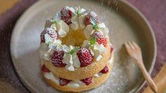 [Eng Sub]草莓戚风蛋糕【曼达小馆】下午茶系列第5集 Strawberry Chiffon Cake