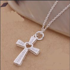 Comment YES If you would buy this!   Get yours here => http://smartsuccess.myshopify.com/products/925-sterling-silver-heart-cross-necklace