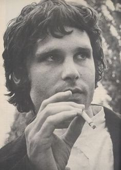 SMOKING ICONS Jim Morrison