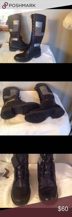 NICE TIMBERLAND BOOTS NICE TIMBERLAND BOOTS, WORN TWICE Timberland Shoes Lace Up Boots