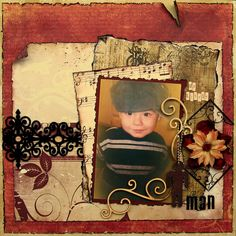 My little man ***Swirlydoos Kits *** - Scrapbook.com