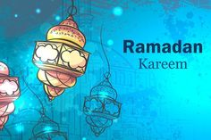 Ramadan Kareem. Lamps for Ramadan. - Illustrations