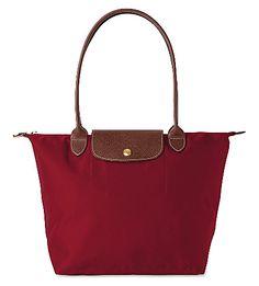 LONGCHAMP Le Pliage small tote bag. #longchamp #bags #leather #hand bags #nylon #tote #