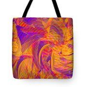 There's Magic In The Fire Tote Bag by Expressionistart studio Priscilla Batzell