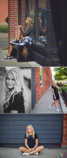 Iowa Senior Photos - Urban photo shoot - Downtown Des Moines
