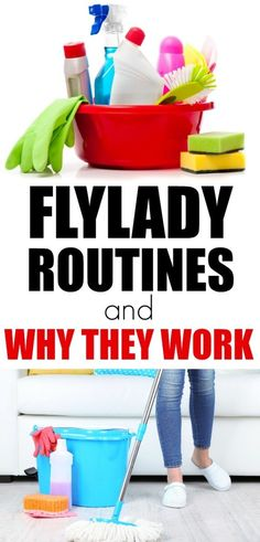 Learning to FLY with the FlyLady: Daily Routine to Keep Your House Guest-Worthy How to use FlyLady to get your house under control. Cleaning routines and declutter in small quick daily tasks. FlyLady routines work so you aren't overwhelmed. Fly Lady Cleaning, Daily Cleaning, Deep Cleaning Tips, House Cleaning Tips, Diy Cleaning Products, Cleaning Solutions, Spring Cleaning, Cleaning Hacks, Cleaning Routines