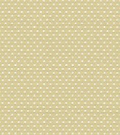 Uphostery Fabric-Waverly Old World Charm Prussian Dot Cream : upholstery fabric : home decor fabric : fabric :  Shop | Joann.com