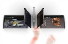 The Almighty Board: A Kitchen-Friendly iPad - A concept that sees the iPad turn into a digital chopping board, with potential features such as instructions, weight measuring, and a UV-based sterilizing mechanism.