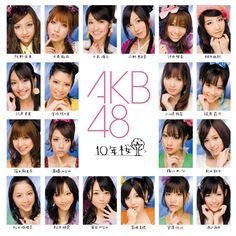 AKB48 11th Single - 10年桜 (2009.3.4) 通常盤