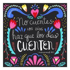 *Lunes motivacionoso* ésta me gusta para print grande (♡ si estás de acuerdo) estoy probando y explorando con mi estilo :) ¡bonita semana a todos! #illustration #ilustracion #quotes #mexico #folkloremexicano #frases #debcustudio