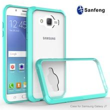 2016 trending products dual layer protective TPU Acrylic 2 in 1 hard phone case for Samsung Galaxy J7