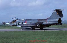 """Lockheed F-104G """"Starfighter"""" D-8338 312 Sqn Klu April 1981"""