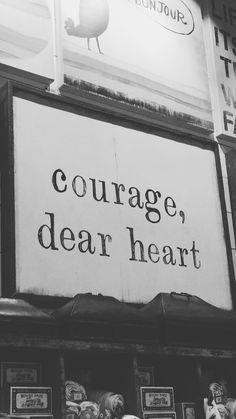Courage, Dear Heart (criado por @viihrocha)