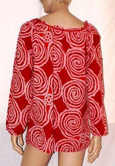 Blusa de verano playa cubierta arriba blusa roja tanque de