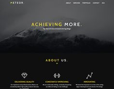 "Check out new work on my @Behance portfolio: ""M E T E O R"" http://be.net/gallery/52286533/M-E-T-E-O-R"