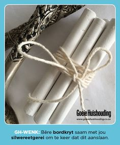Place chalk in with your silver cutlery to keep it from tarnishing Silver Cutlery, Good Housekeeping, Natural Cleaning Products, Looking For Women, Clean House, Helpful Hints, Handy Tips, Cleaning Hacks, Life Hacks