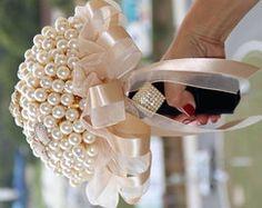 Bouquet de Perolas Noiva - Cod.BN0001