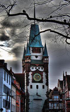Martinstor FREIBURG, GERMANY