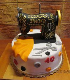 šijací stroj torta, netradičné