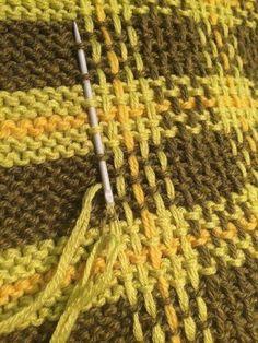 Knitting Stiches, Knitting Charts, Crochet Stitches, Baby Knitting, Knit Crochet, Tunisian Crochet, Knitting Machine, Knitting Yarn, Stitch Patterns