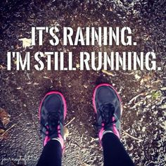 It's all about the right clothes. Running in the rain can be wonderful!