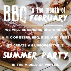 BBQParty in February