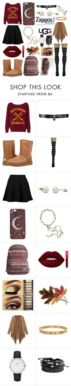 """""""The Icon Perfected: UGG Classic II Contest Entry"""" by illusionmask ❤ liked on Polyvore featuring Fallon, UGG Australia, Boohoo, Carole, Billabong, Lime Crime, Urban Decay, Anne Klein, Cartier and CLUSE"""