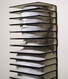 40 amazing pieces of book art | Craft Gossip | Bloglovin'