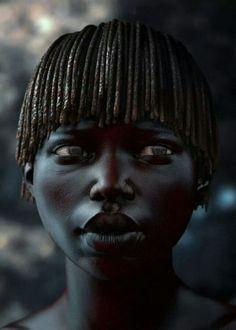 Little african girl by Tsvetan Nikolov