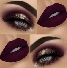 Glitter Eye Makeup, Smokey Eye Makeup, Eyeshadow Makeup, Lip Makeup, Makeup Brushes, Beauty Makeup, Smoky Eye, Makeup Cosmetics, Eyeshadow Palette